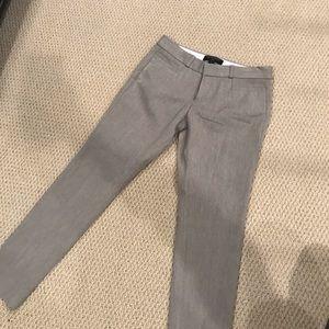 Banana Republic Grey Work Pants 0P